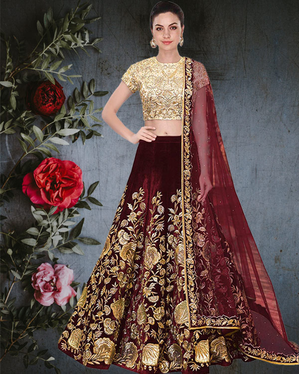 c6ee08501e 6 Off-beat Colors to Try in Lehenga in 2019 | Blog osobisty | zBLOGowani